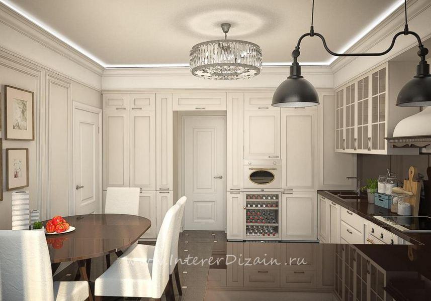 Стиль контемпорари в интерьере кухни
