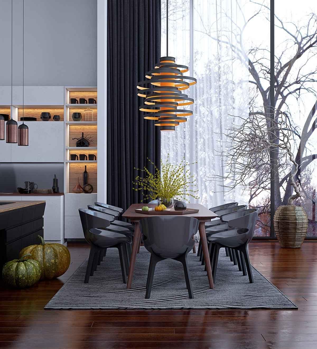 Дизайн интерьера столовых на любой вкус