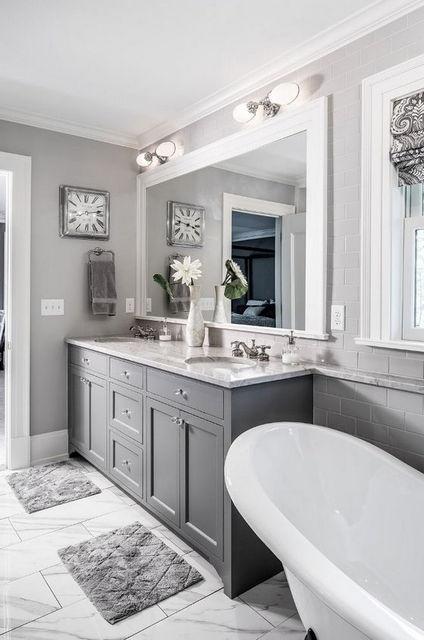 Ванная комната 2017. Актуальные цветовые решения