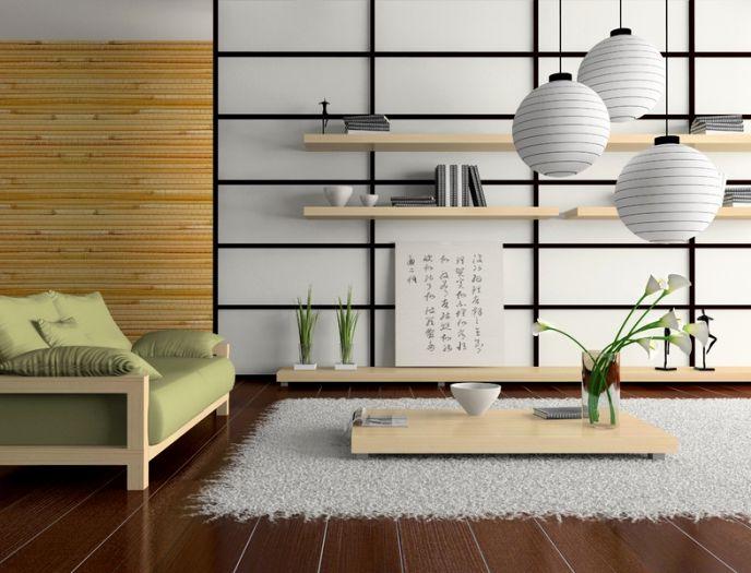 Японский стиль в интерьере – самобытный и таинственный